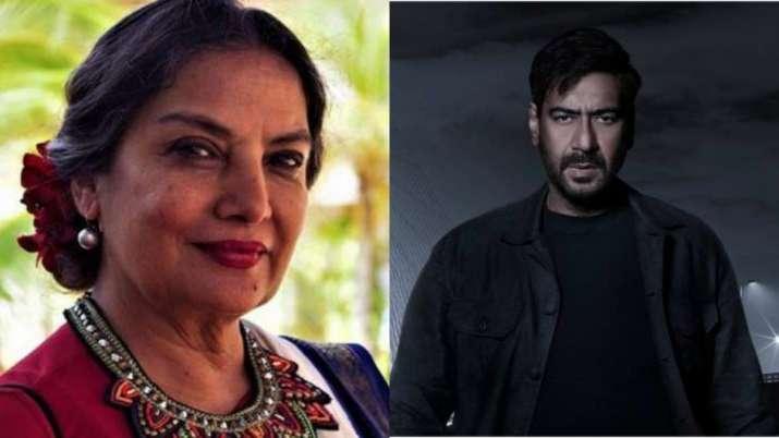 Ajay Devgn, Shabana Azmi