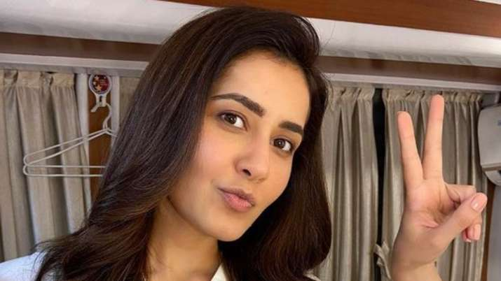 Rudra-The Edge of Darkness: Raashii Khanna 'excited and nervous' for Ajay Devgn starrer