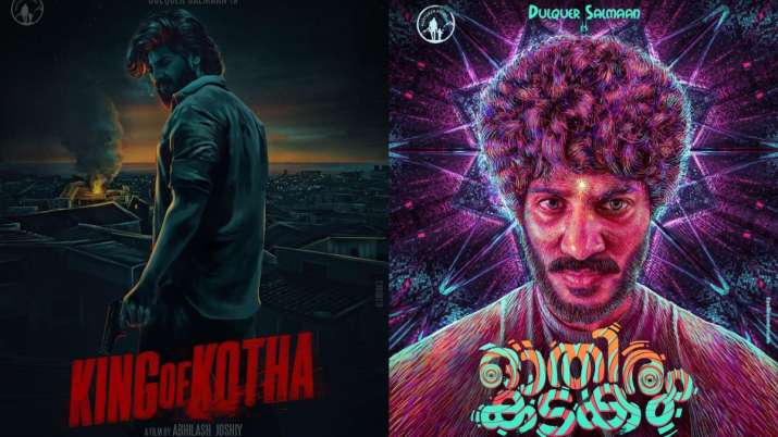 Dulquer Salmaan shares FIRST look posters of two new films, 'King of Kotha' and 'Othiram Kadakam'