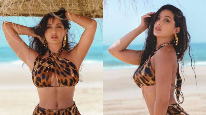 Nora Fatehi celebrates 30 million followers on Instagram with sultry beach pictures