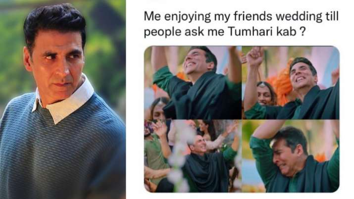 Akshay Kumar retweets hilarious memes by netizens on Filhaal 2, says 'amazing spirit'