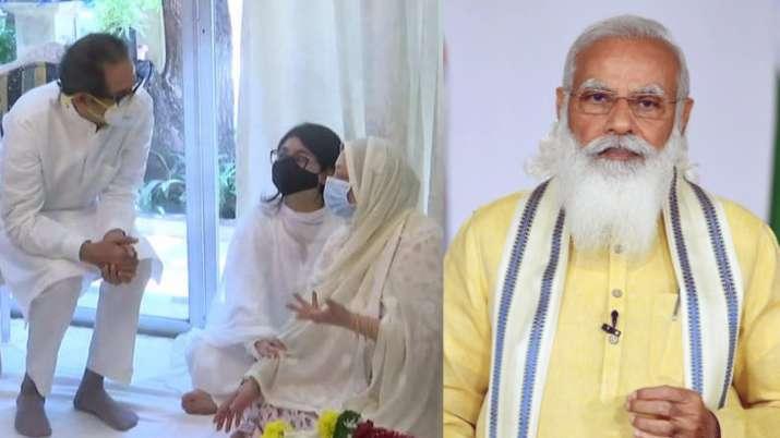 Saira Banu thanks PM Modi for his 'early morning call' & CM Uddhav Thackeray on Dilip Kumar's death