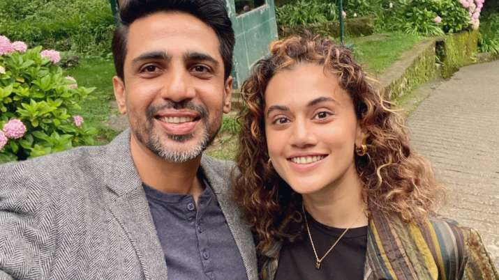 Taapsee Pannu commences shooting for her production debut 'Blurr' with Gulshan Devaiah