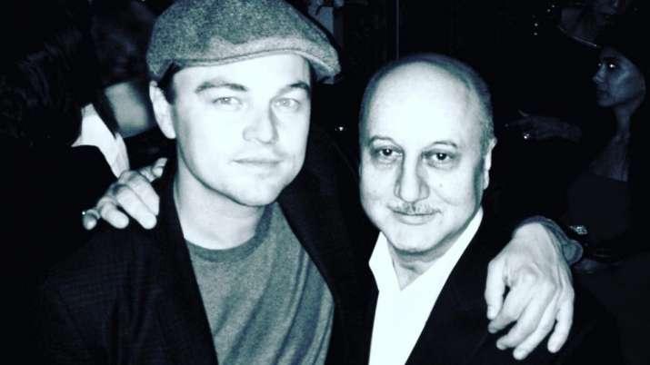 Anupam Kher, Leonardo DiCaprio
