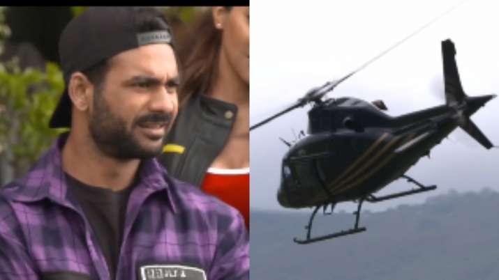 Khatron Ke Khiladi 11 Promo: Vishal Aditya Singh-Sana Makbul ace roller-coaster chopper ride