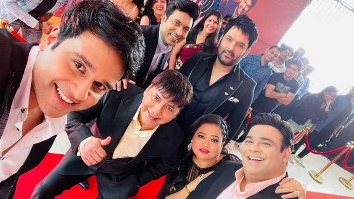 Kapil has confirmed the return of The Kapil Sharma Show with Krushna Abhish, Bharti Singh, Kiku Sharda;  see FIRST pic