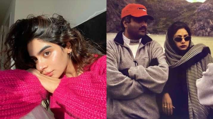 Khushi Kapoor dedicates new post to 'the coolest' parents Boney Kapoor, Sridevi; shares rare pic
