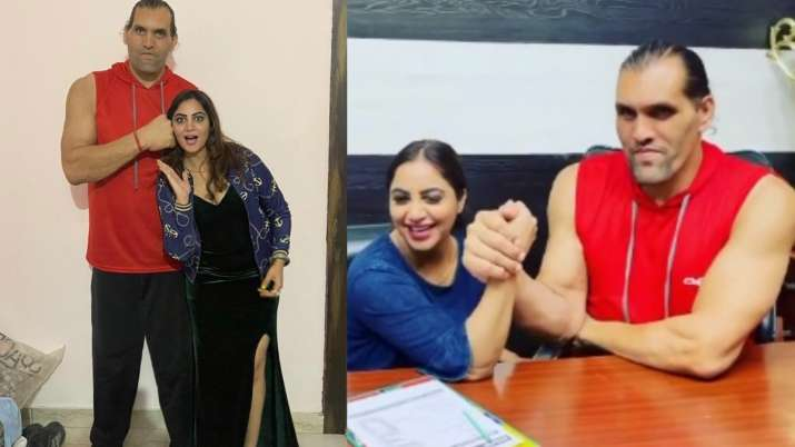 Bigg Boss 14 fame Arshi Khan wants to learn to fight the Great Khali