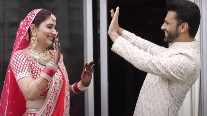 DisHul wedding film: Rahul Vaidya, Disha Parmar share glimpse of their fairytale love story | WATCH