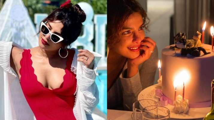 Inside Priyanka Chopra's birthday celebrations: Vintage wine, beautiful sunset, poolside fun & more