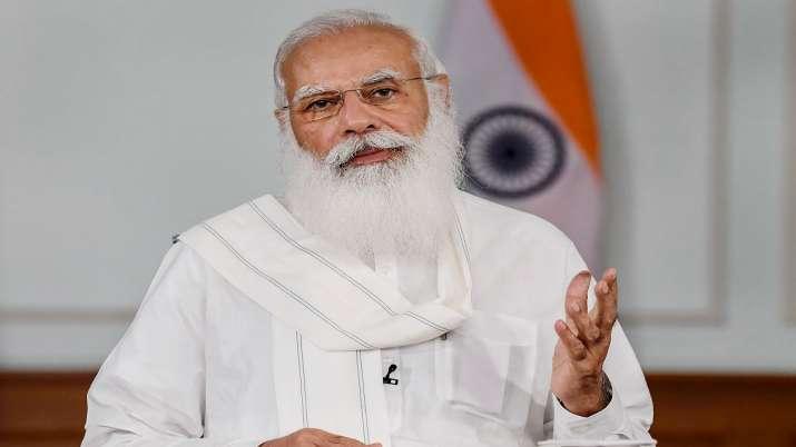 PM Modi lauds UP CM Yogi Adityanath for BJP's victory in