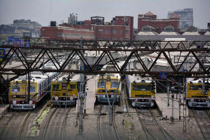 trains diverted due to waterlogging in trains