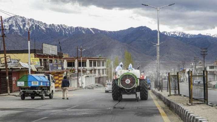 Ladakh Covid 19 cases