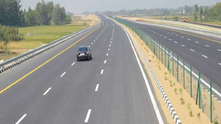 View of PKG-5 ofPurvanchal Expressway.