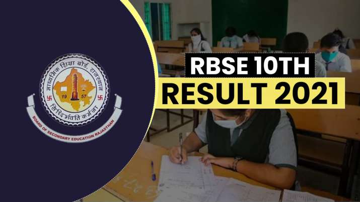 RBSE 10th result 2021