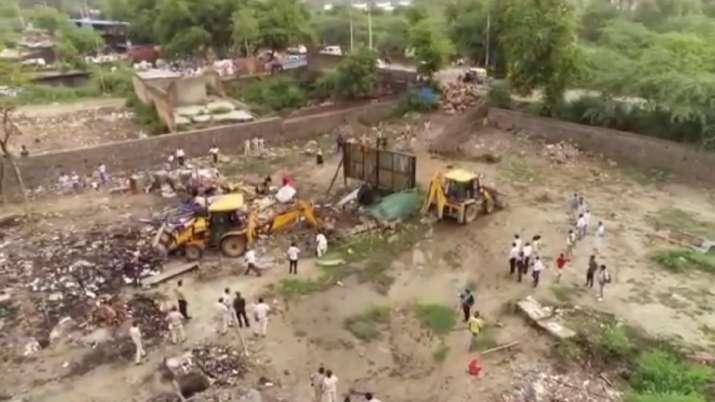 madanpur khadar, illegal rohingya camps, UP govt, Yogi Adityanath govt, anti-enchroachment drive, il