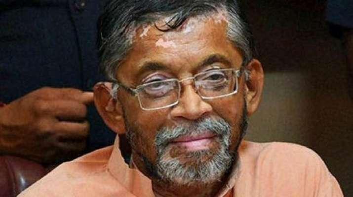 Santosh Gangwar resigns