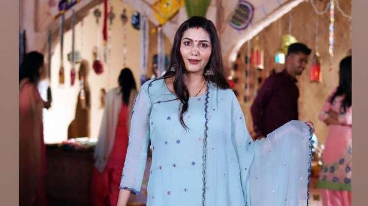 Sapna Choudhary opens up on her son with Veer Sahu