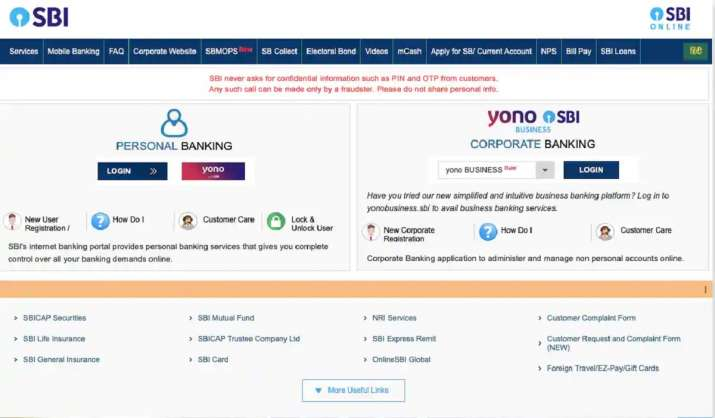 SBI net banking, YONO app, UPI services to remain down