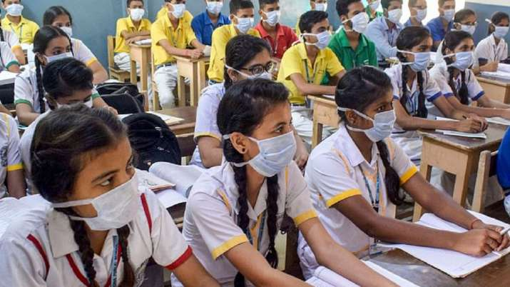 The higher secondary schools should first complete the