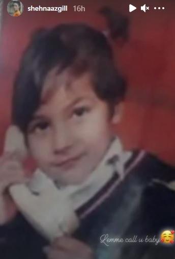 India Tv - Shehnaaz's childhood photo