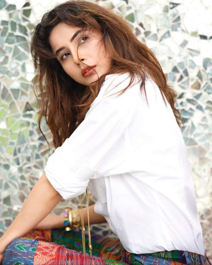 India Tv - Shehnaaz Gill raises the mercury with latest pics