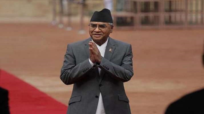 New Nepal PM Sher Bahadur Deuba, New Nepal PM Sher Bahadur Deuba oath, New Nepal PM Sher Bahadur Deu