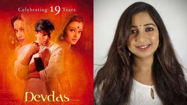 """With """"Devdas"""", Shreya Ghoshal turns 19 in Bollywood, thank you Sanjay Leela Bhansali"""