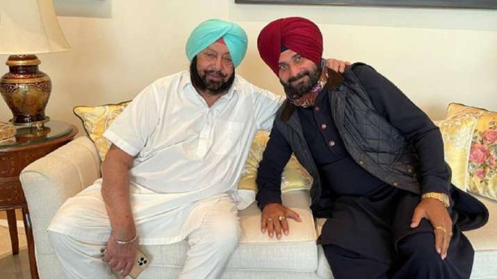 Amarinder Singh and Navjot Singh Sidhu has been at
