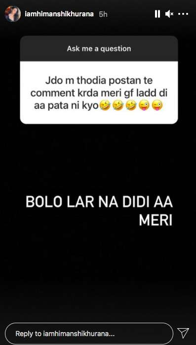 India Tv - Himanshi Khurana's witty reply to fan who asks her to get married will leave you in splits