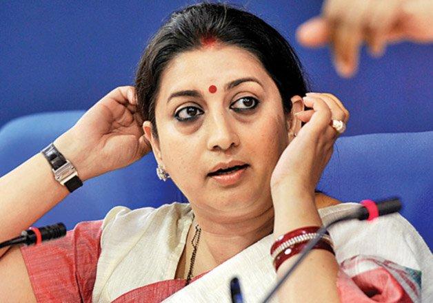 Professor held for making derogatory remarks against Smriti