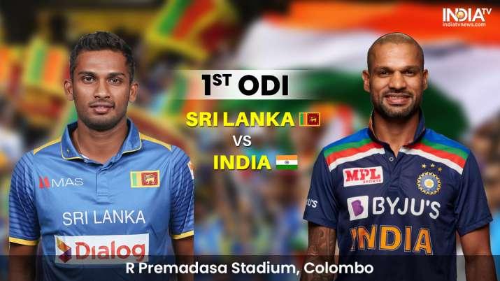 Live Score Sri Lanka vs India 1st ODI: Live Updates from Colombo