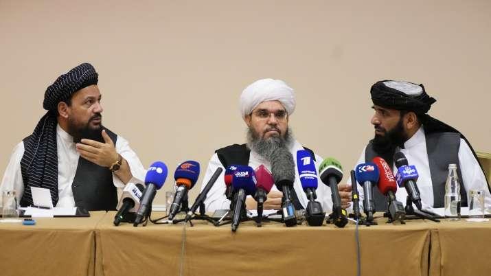 From left, Mohammad Naim, Mawlawi Shahabuddin Dilawar and