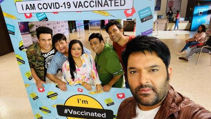 TKSS: Kapil Sharma, Krushna Abhishek, Bharti Singh & others receive COVID-19 vaccine