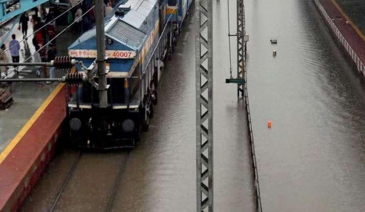 Maharashtra: Konkan Railway suspends train services in