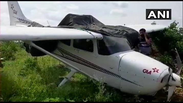 MP: Trainer aircraft skids in Sagar district, pilot safe