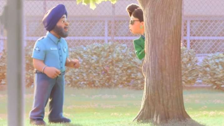 Sikh character in Pixar movie Turning Red's trailer
