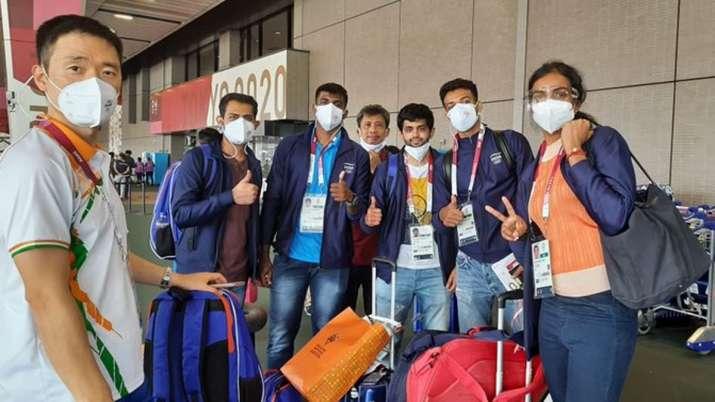 India's badminton contingent