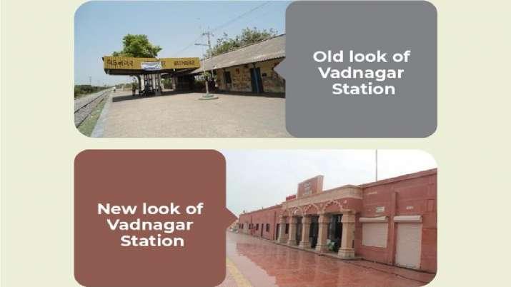 Indian Railways draws a comparison of Vadnagar railway