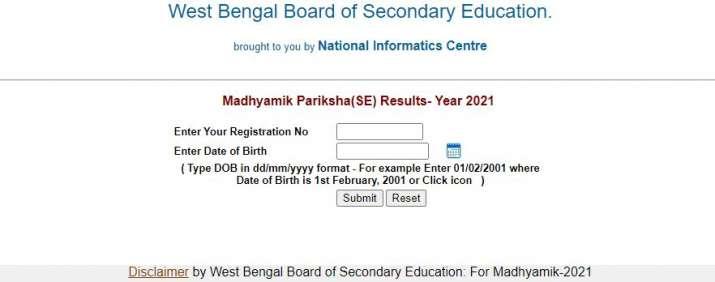 India Tv - WBBSE Madhyamik result declared