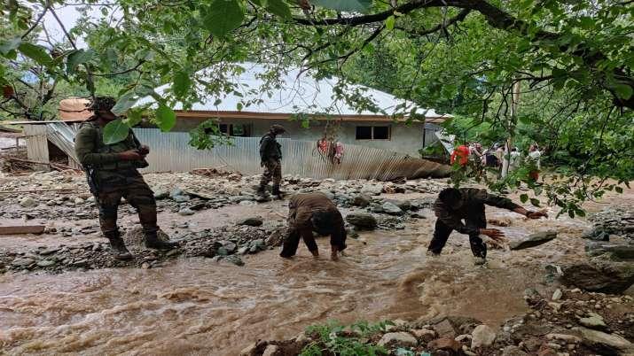 J&K: Cloudburst in Ganderbal triggers flash floods