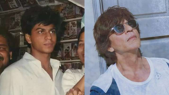 Shah Rukh Khan's old photo pops up on the Internet