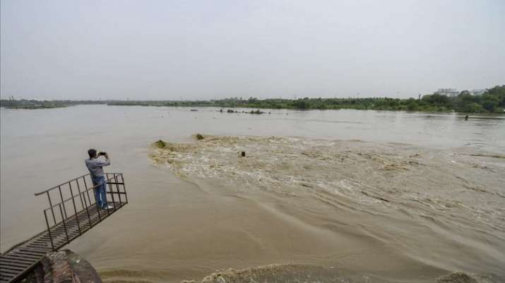Water levels in Yamuna at lowest point in 56 years