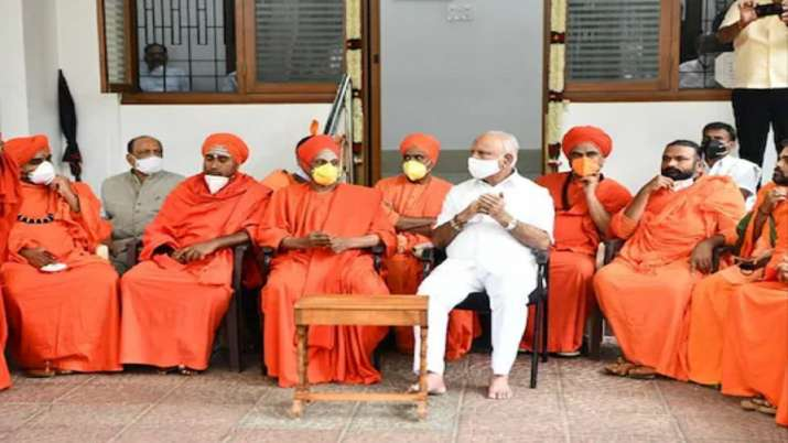 A few pontiffs have reportedly warned the saffron party of