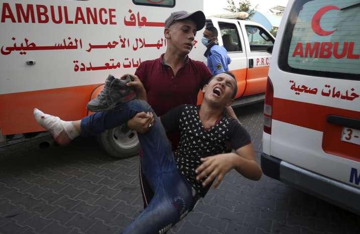 israel strikes gaza