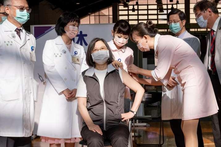 taiwan president domestic vaccine