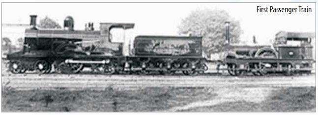 India Tv - First Passenger Train