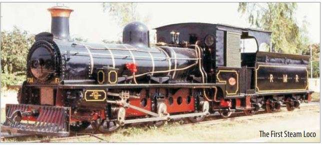 India Tv - The First Steam Loco