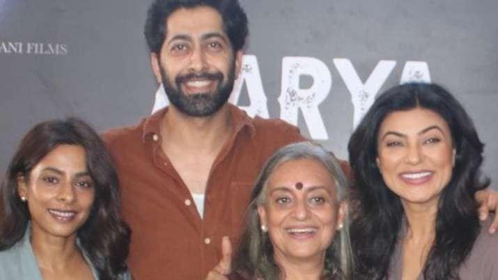 Shooting of Sushmita Sen starrer 'Aarya 2' gets wrapped up, announces Ram Madhavani