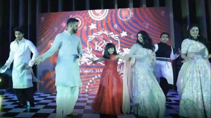 India Tv - Aishwarya Rai Bachchan, daughter Aaradhya's photos, dance video from cousin's wedding